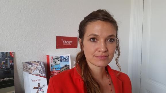 Marie-Laure Guislain, responsable du contentieux à Sherpa, en juin 2017.