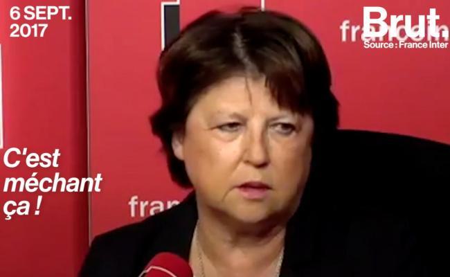 Martine Aubry S Attaque à La Ministre Du Travail Retour