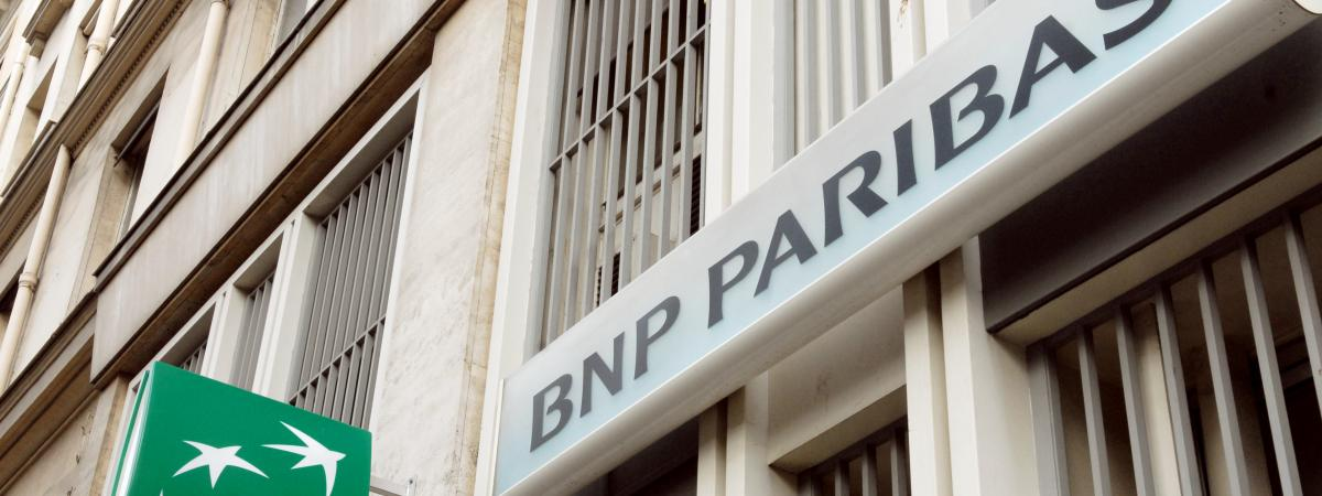 Photo d\'illustration d\'une banque BNP Paribas.