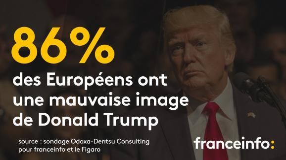 Les Espagnols sont ceux qui rejettent le plus le locataire de la Maison Blanche.