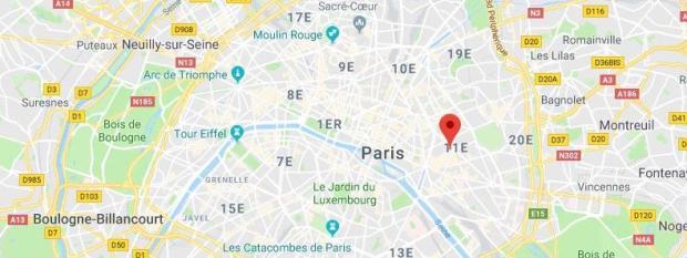 Le quartier de Bastille, à Paris, où a eu lieu la rixe où un adolescent de 15 ans a été poignardé samedi 13 janvier 2018.
