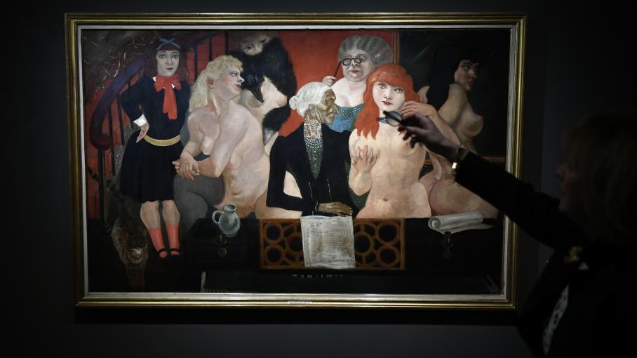 Foujita le plus franais des peintres japonais expos  Paris