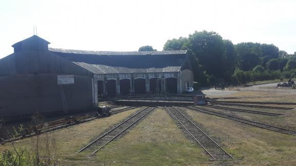 La rotonde de Montabon et sa plaque tournante de 24m. Un exemple du patrimoine ferroviaire du XIXe et XXesiècle.
