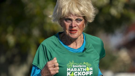 Ginette, 85 ans, et 16 marathons de New-York à son actif.