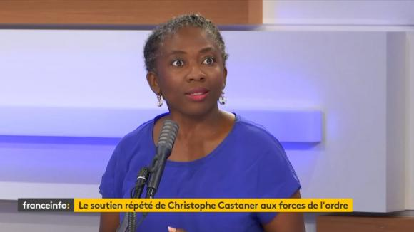 Danièle Obono, députée LFI de Paris, invitée du 18h50 franceinfo, le vendredi 26 juin 2020.