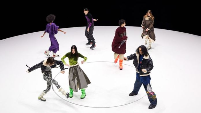 Kenzo Fall-Winter 2021-22, March 26, 2021 (IMAXTREE.COM)