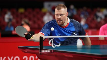 The desk tennis participant Fabián Ramiro in silver or gold … Succeed dwell on day 6