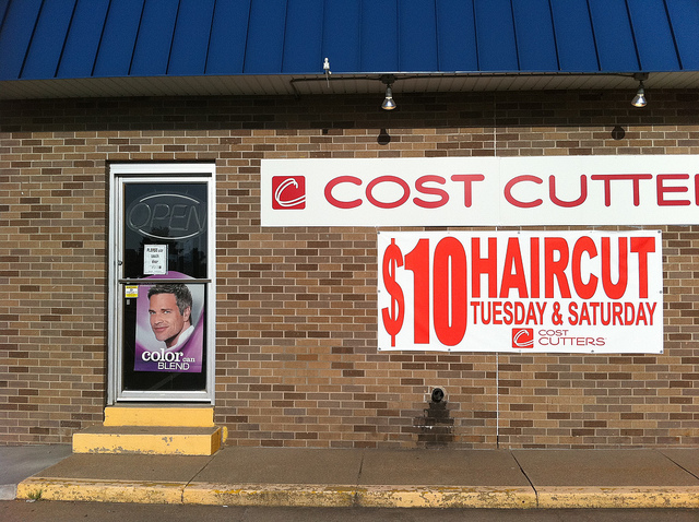 Cost Cutters Photo by d.xin