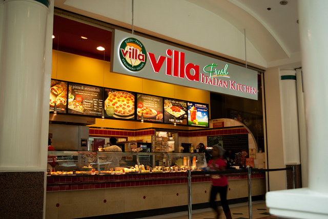 Villa Pizza Villa Fresh Italian Kitchen  Average Sales
