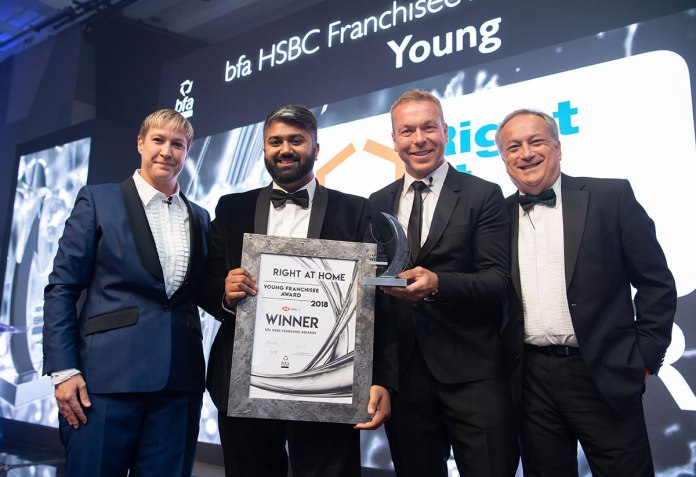 Almas Adam Right at Home Young Franchisee of the Year credit Colin Wyhman