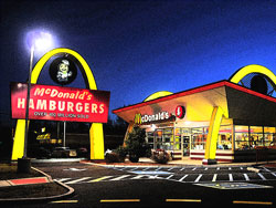 McDonald's in New Jersey, US