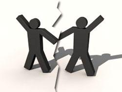 Franchise partnership break-up