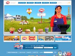 Dairy Queen website