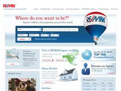 RE/MAX website