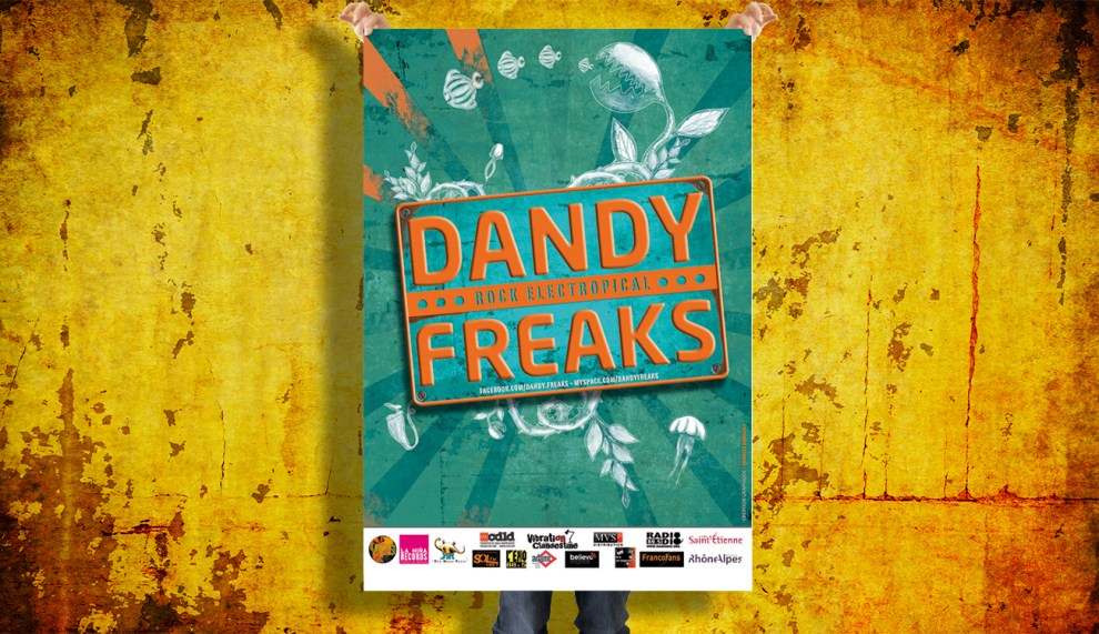 Dandy Freaks : Rock Electropical