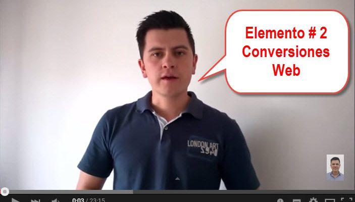 conversiones web