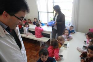 Prefeito Neto conheceu as instalações do CMEI e anunciou a ampliação que ofertará 40 novas vagas