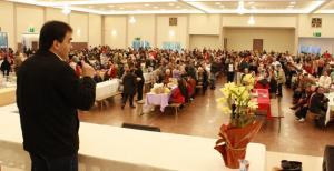 Prefeito Neto fez a abertura do encontro, sábado no Centro de Eventos Marabá
