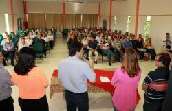 Evento na Assesoar comemorou a marca de 100% dos recursos do FNDE para a merenda utilizados no compra direta