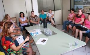 Agricultoras estiveram reunidas esta semana para debater o fornecimento dos produtos à merenda escolar