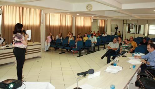A secretária de Saúde, Rose Mari Guarda, apresentou os dados do último quadrimestre do ano; em 2013, as despesas no setor ultrapassaram R$ 52 milhões