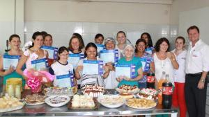 Formandas do primeiro curso do ano receberam os certificados esta semana