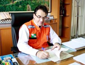 Prefeito Cantelmo Neto decretou situação de emergência nesta quinta