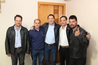 Dile, Gilmar, Giacobo, Guinho e Xiliga