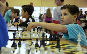 O xadrez envolveu alunos de todas as séries do ensino fundamental