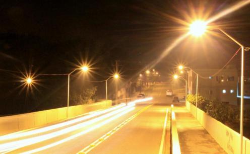 No ano passado, ponte entre a Cango e o Presidente Kennedy recebeu iluminação