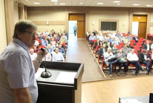 Evento de apresentação do rpojeto aconteceu na Amsop, nesta sexta (22)