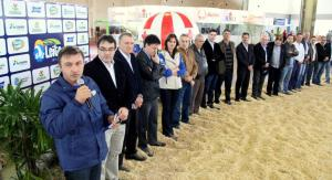 Prefeito Cantelmo Neto abriu a sexta edição da Via Tecnológica do Leite, que prossegue até domingo