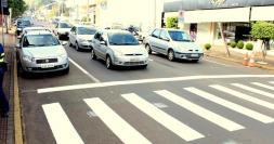 Novo binário começou a operar nesta segunda: ruas São Paulo e Romeu Lauro Werlang foram transformadas em mão única com sentido inverso