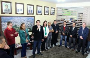Prefeito Cantelmo Neto apresentou oficialmente os novos nomes da equipe administrativa, em evento na Prefeitura
