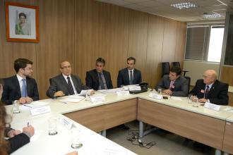 Reunião na Sac com a bancada paranaense de deputados federais