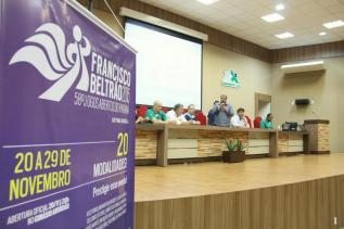 Congresso técnico realizado na Amsop reuniu dirigentes dos municípios que irão participar da competição