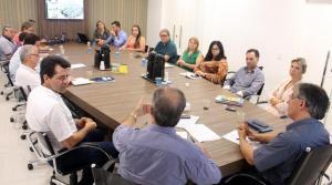 Secretarias de Urbanismo e Planejamento reuniram os secretários municipais para apresentar o processo de revisão do Plano Diretor