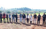 Prefeito Neto destacou investimentos da Prefeitura – novos acessos, parque, UBS, asfalto – no bairro, que tem quase 9 mil habitantes