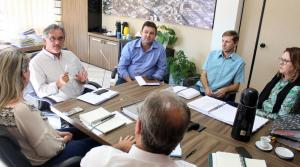 Parte da equipe técnica da Prefeitura esteve reunida nesta semana para organizar a audiência pública do dia 27