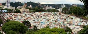 Cemitério central é o maior de Beltrão e recebe milhares de visitantes no Dia de Finados