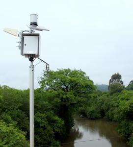 A estação coleta imagens e informações sobre o nível do rio, velocidade da correnteza e também a quantidade e intensidade de chuvas