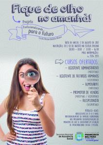 FLYER - PROFISSIONALIZANDO PARA O FUTURO (3)
