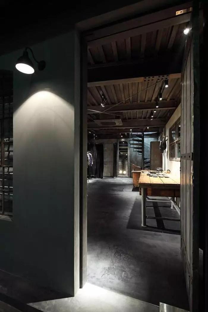 Decoracin de estilo industrial y mobiliario para tiendas
