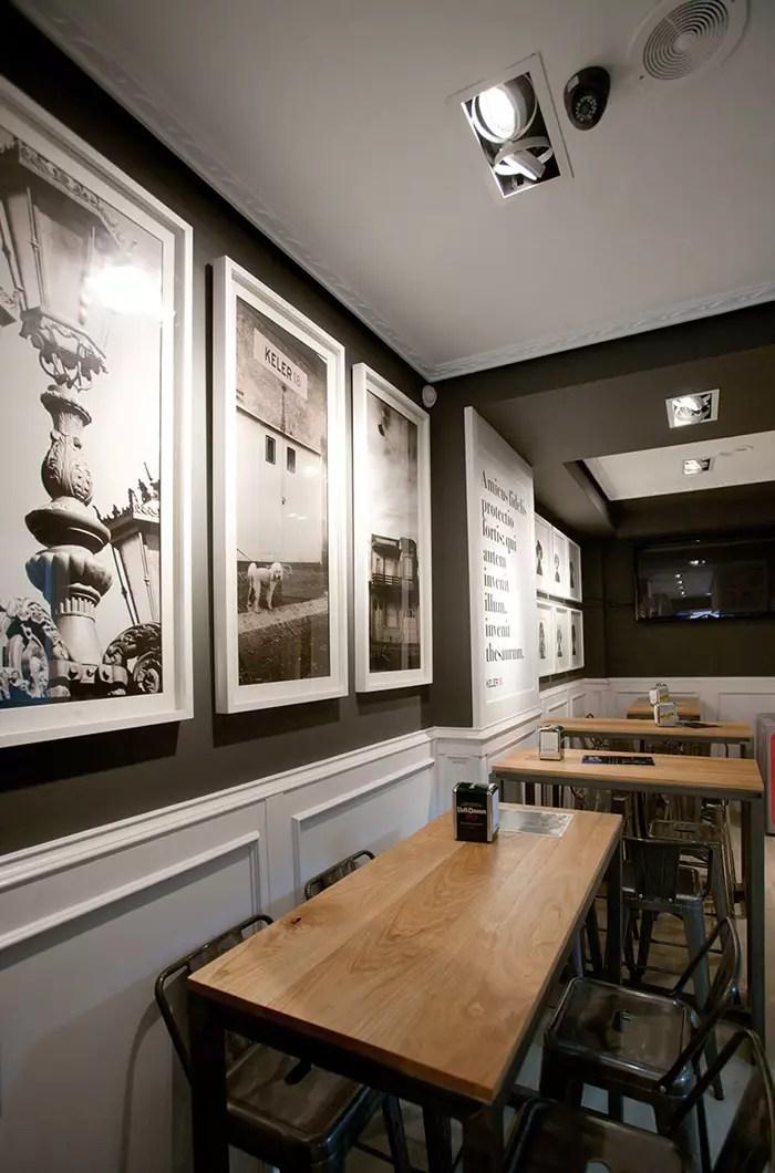 Muebles Francisco Segarra en la decoracin del bar amistad
