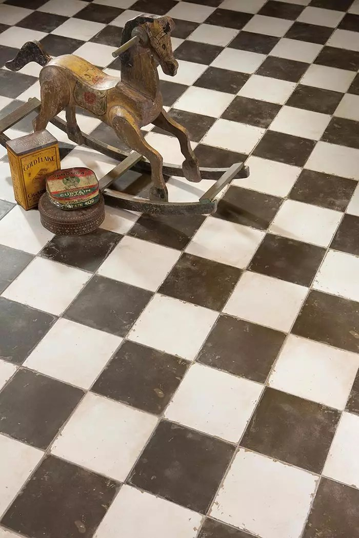 Suelos de gres vintage de la coleccin FS by Peronda Cermicas