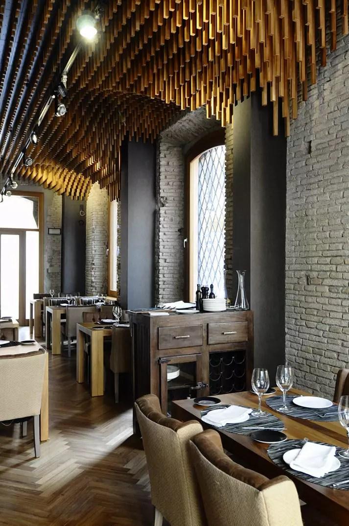 Proyectos de interiorismo y rehabilitacin para restaurantes