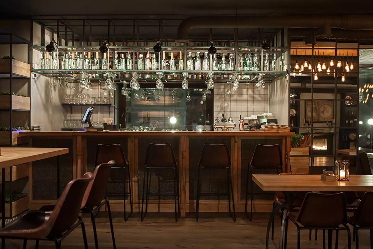 Proyectos de interiorismo para hostelera Restaurante Barco