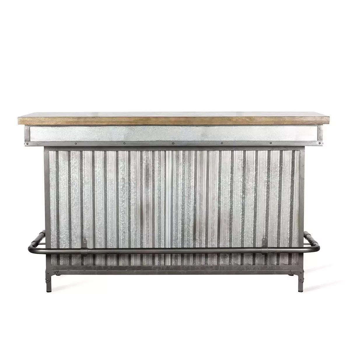 comptoir bar style industriel