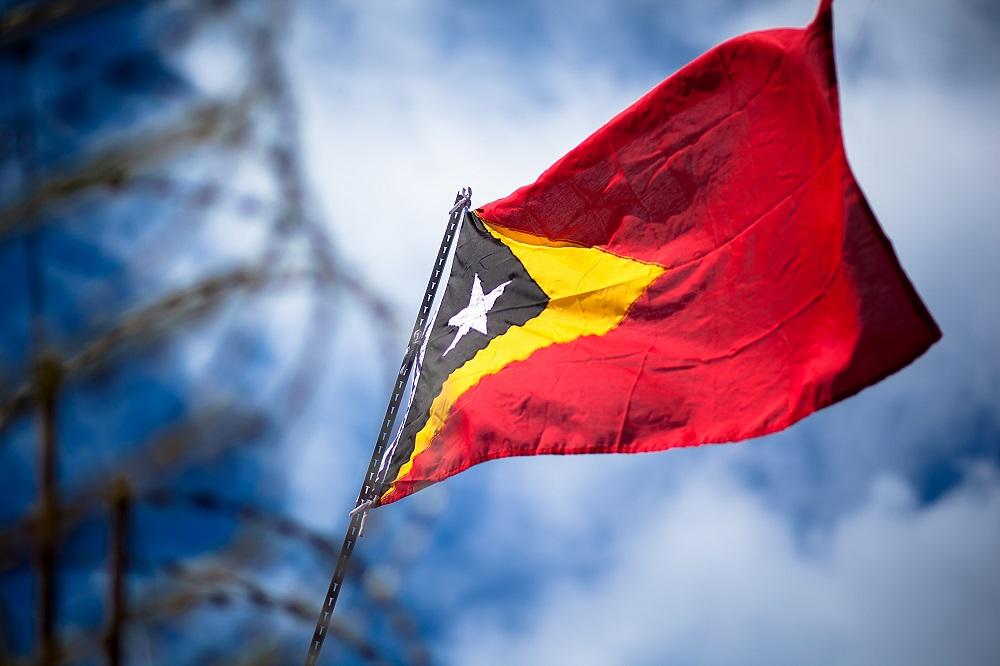 flag timor east