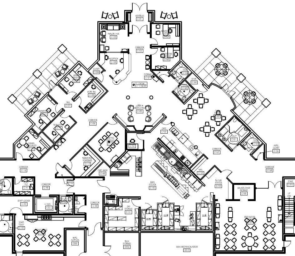 Personal Care Home Floor Plans